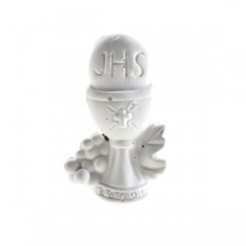 Gessetti bianchi simbolo Comunione e Cresima