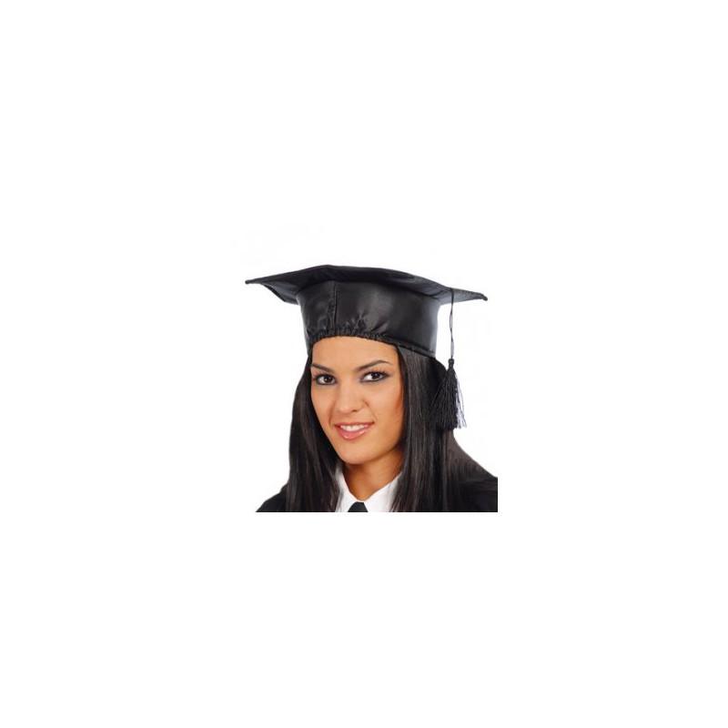 Cappello laureato nero
