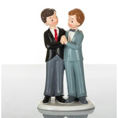 Cake Toppers Sposi arcobaleno