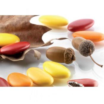 Confetti sfumati al cioccolato