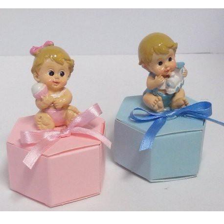 Esagono con neonato