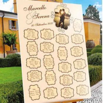TABLEAU DE MARIAGE PERSONALIZZATO