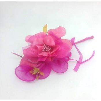 Rosa Con Racchetta Colorata