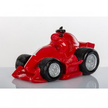Salvadanaio F1 rosso