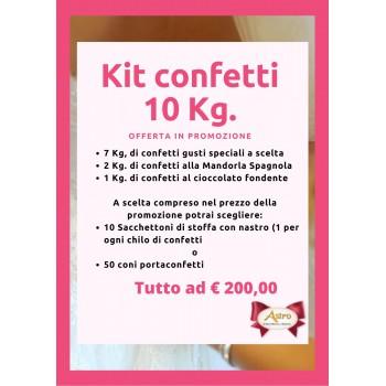 Kit confettata 10 kg.