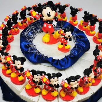 Torta Mickey con macchinina