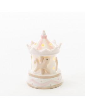 Giostrina porcellana con led