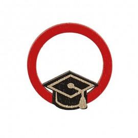 Decoro Cerchio Rosso con...