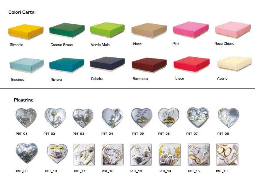 Colori coperchio scatole