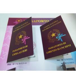 Partecipazione nascita passaporto