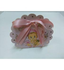 Scatolina baby rosa