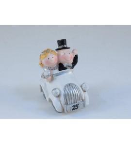 Sposi memo auto nozze argento
