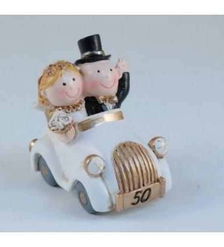 Sposi memo auto nozze oro