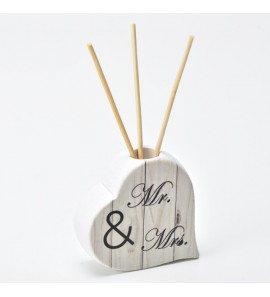Profumatore Love scritta Mr & Mrs