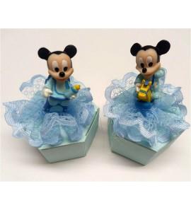Esagono Disney Topolino azzurro