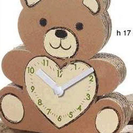 Orologio ecologico orso