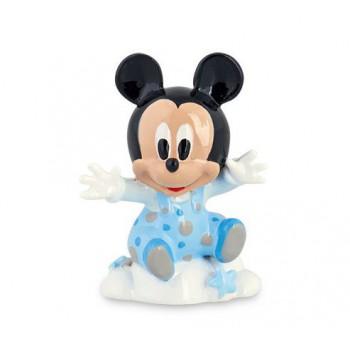 Mickey azzurro su nuvola con scatola