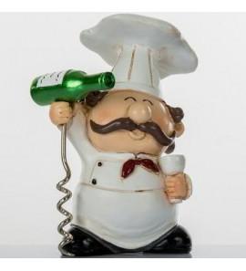 Chef con cavatappi