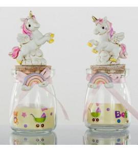 Vasetto con unicorno